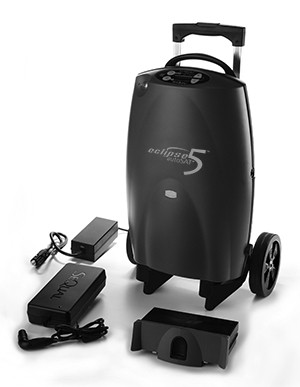 Sequal Eclipse 5 portable oxygen concentrator - Health Oxygen
