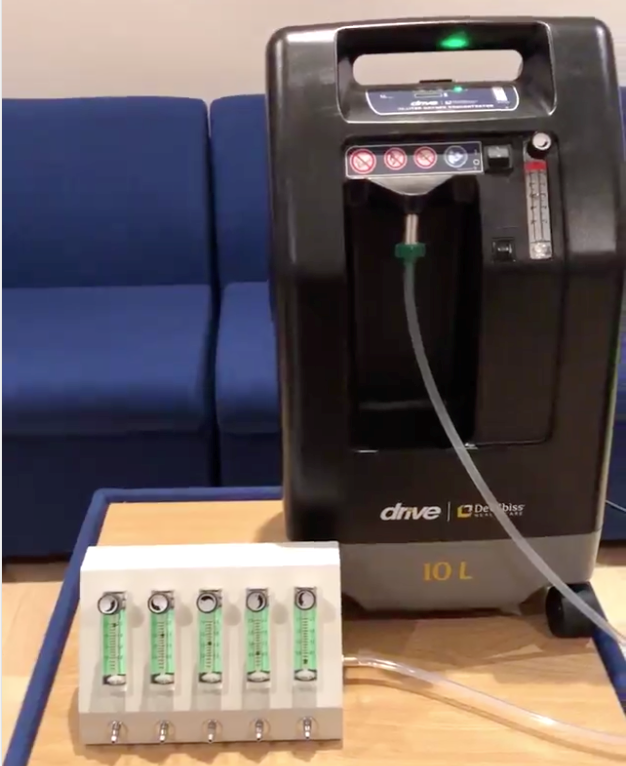 DeVilbiss Stationary oxygen concentrator